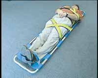 AussiScoop Scoop Stretcher with restraint kit